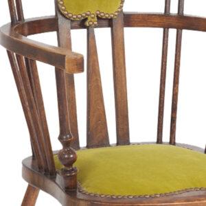 Art-Nouveau-Armchair