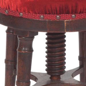 2-georgian-Piano-stool