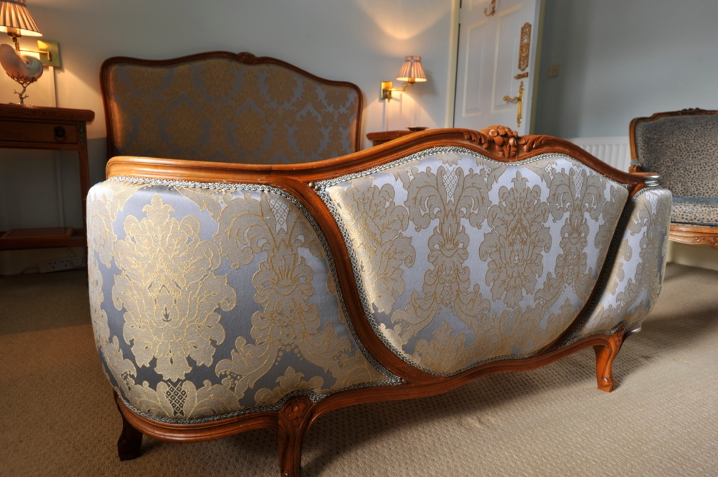 Upholstered French Bed