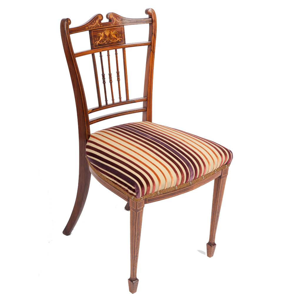 victorian antique occasional chair the unique seat company. Black Bedroom Furniture Sets. Home Design Ideas