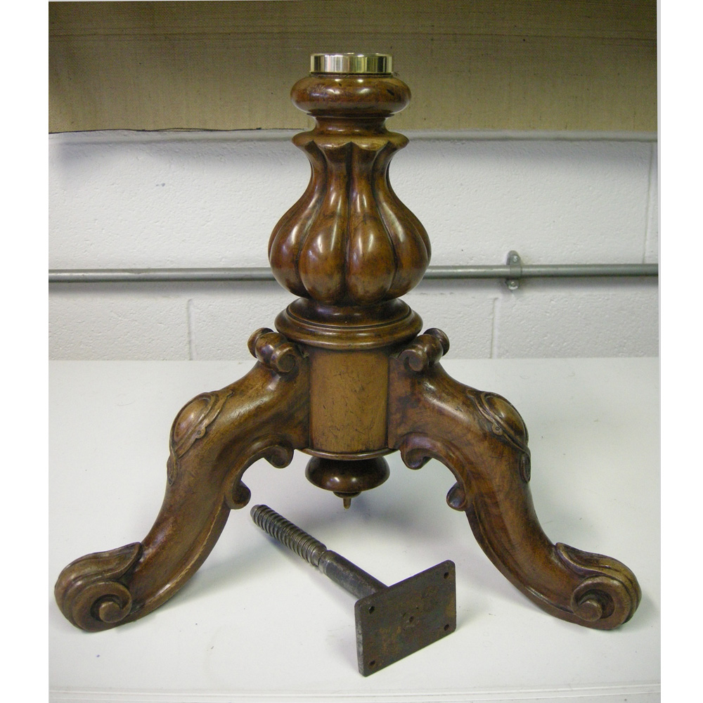 Is The Height Adjusting Screw Mechanism On Your Antique