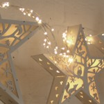 Winter Night Decorative Wall Table Light