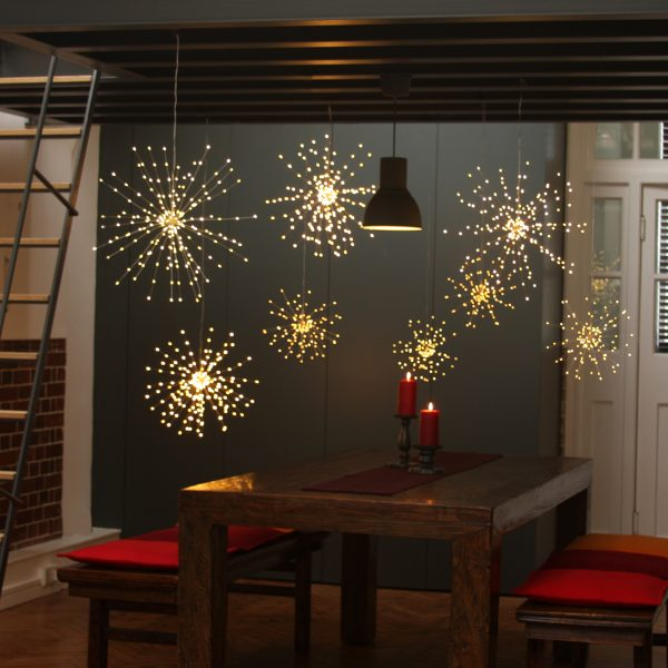 Starburst Hanging LED Light