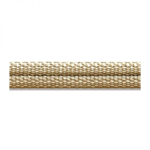 Double Piping Upholstery Trim - Barley
