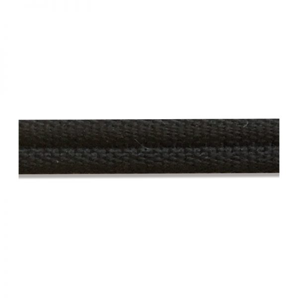 Double Piping Upholstery Trim- Black