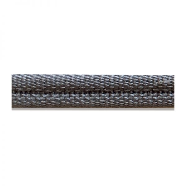 Double Piping Upholstery Trim - Grey