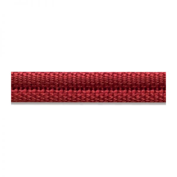 Double Piping Upholstery Trim - Rouge