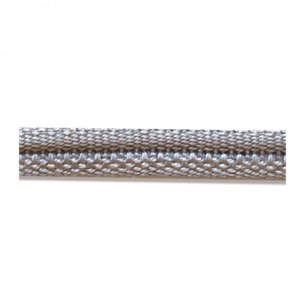 Double Piping Upholstery Trim - Stone