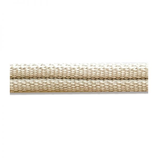 Double Piping Upholstery Trim - Wheat