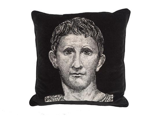 Roman Head Cushion