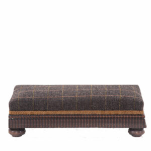 1920's Upholstered Footstool