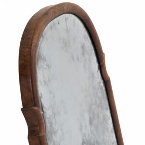 Late 19th Century Walnut Mirror