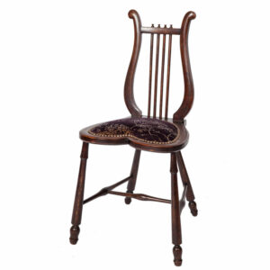 Lyre Back Occasional Chair